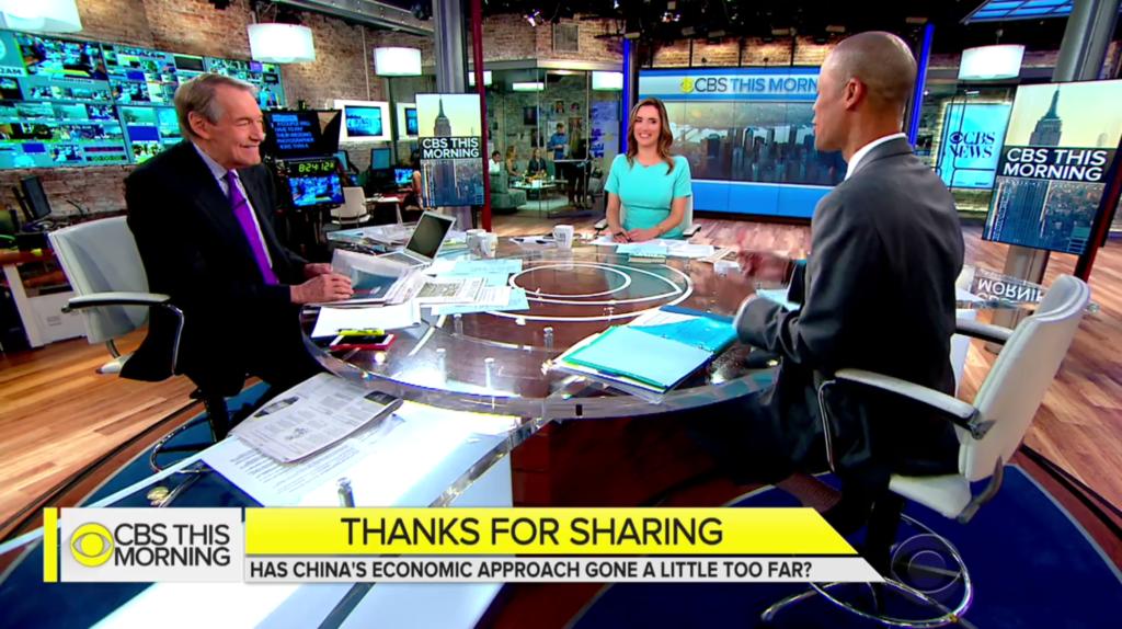 China Sharing Economy.CBS News.2017
